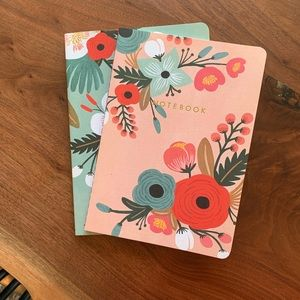 Rifle Paper Co. Floral Notebooks (Set of 2)